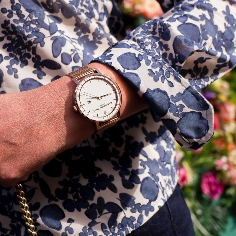 שעון זהב לגבר