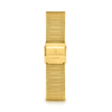 רצועת רשת לשעון בצבע זהב