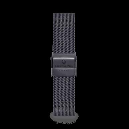 רצועת רשת לשעון בצבע שחור